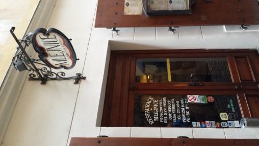 Mlejnice Entrance