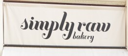 Simply Raw Bakery Sign