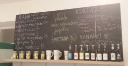 Coffee Menu at Soya Cafe