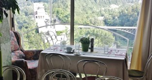 Our Seat in Shtastliveca with Views of Veliko Turnovo