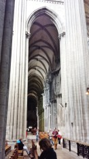 Side Aisle Rouen Cathedral