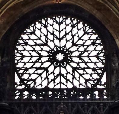 Western Portal Rose Window