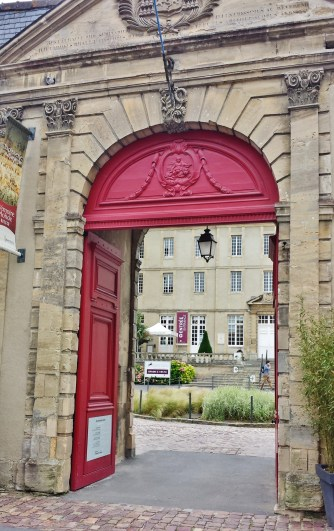 Bayeux Tapestry Museum Entrance