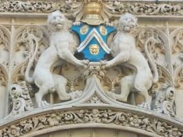 Decoration over Entrance Hotel de Bourgtheroulde