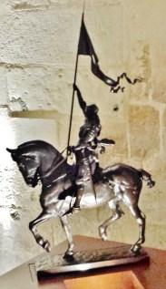 Jeanne d'Arc on Horse
