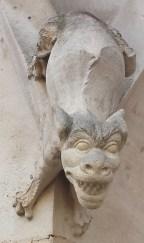 Second Gargoyle on Palais de Justice Exterior