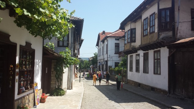 Street of Shops in Tryavna