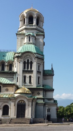 Alexander Nevsky Cathedral Sofia West Tower