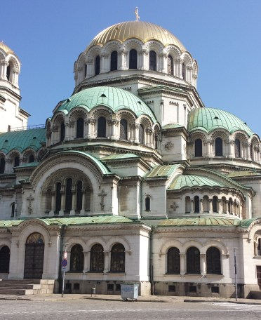 Alexander Nevsky Cathedral Sofia from the South