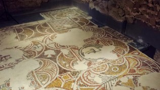 St Sofia Church Crypt Mosaic Floor Detail 2