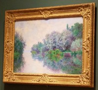 The Seine at Giverny by Claude Monet