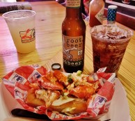 BLT Lobster Roll and Maine Root Beer