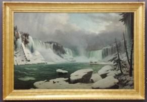 Niagara Falls in Winter by Sebron