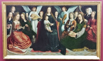 The Virgin Among the Virgins by Gerard David