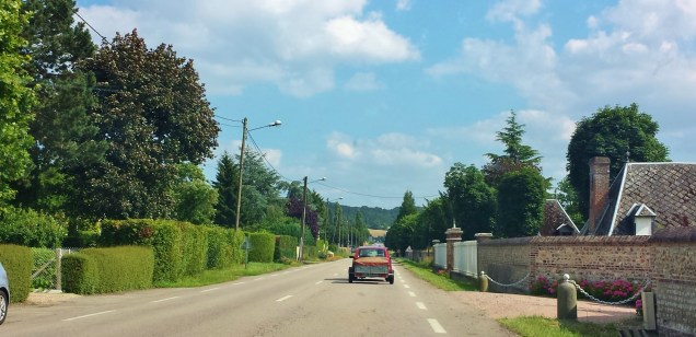 Driving Through Normandy Village