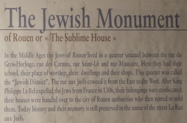Explanation of the Monument Juif