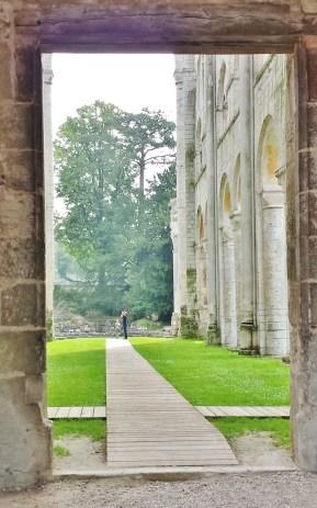Jumieges Abbey Entrance