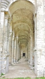 Jumieges Abbey Side Aisle