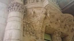 Ornate Renaissance Carving Underneath Organ Loft