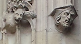 Window Details with Head and Gargoyle