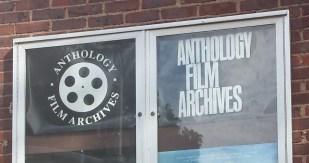 Anthology Film Archives Sign