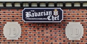 Bavarian Chef Sign