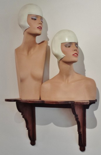 Manikins on a Shelf