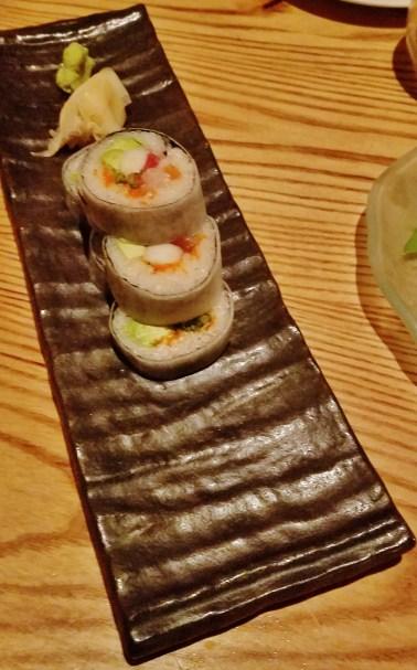 Nobu Special Sushi Roll