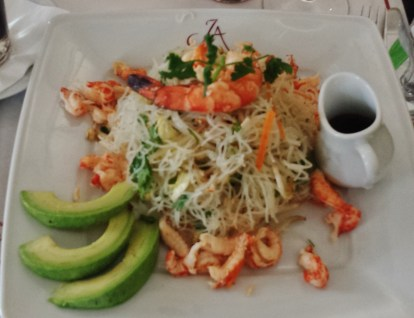 Vermicelli with Seafood Salad