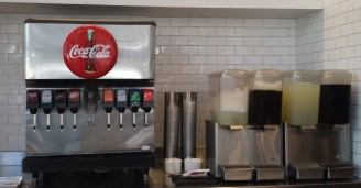 Beverage Station at Schnippers