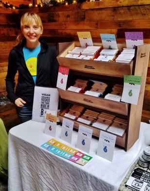 Sarah Feoli, Maker of Rescue Chocolates
