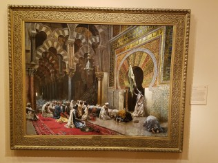 Interior of a Mosque at Cordoba by Edwin Lord Weeks