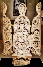 Madonna Triptych Opened (c. 1180)