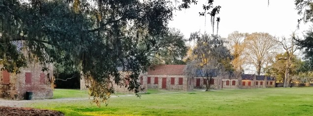 Storage Buildings on Boone Hall Plantation