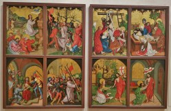 Altar of the Passion and Resurrection of Christ by Martin Schongauer