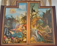 St. Anthony Tormented by Demons and St. Anthony Visiting St. Paul