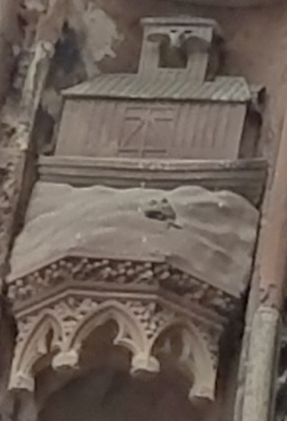 Exterior Detail of Noah's Ark