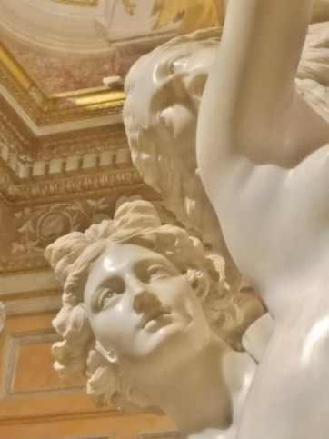 Apollo and Daphne by Bernini Detail