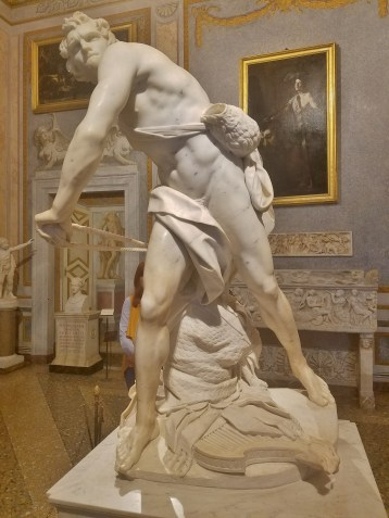 David by Bernini from the Front