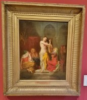 Interior of a Harem by Theodore Chasseriau
