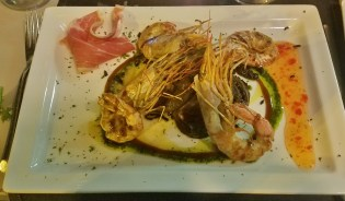 Main Course of Prawns