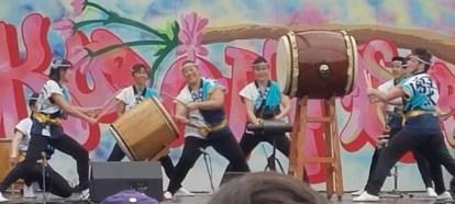 More Daiko Drumming
