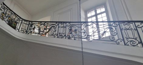 Musee des Beaux Arts Wrought Iron Balustrade