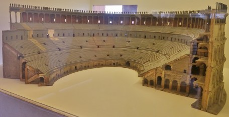 Scale Model of Second Half of the Colosseum