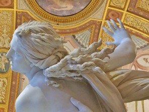 The Abduction of Proserpine by Bernini Detail