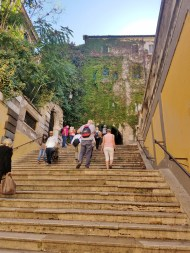 The First Staircase from Via Cavour