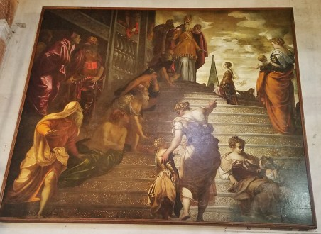 The Presentation of the Virgin in the Temple by Tintoretto
