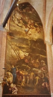 The Worship of the Golden Calf by Tintoretto
