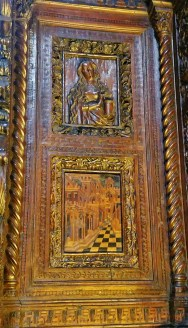 Frari Choir Stalls Detail