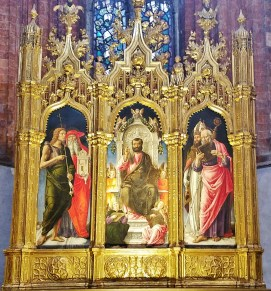 St. Mark Enthroned by Bartolomeo Vivarini